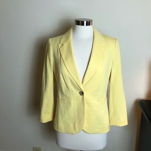 NWTs OBR for The Limited Yellow Blazer
